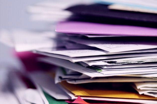 Conservation des documents