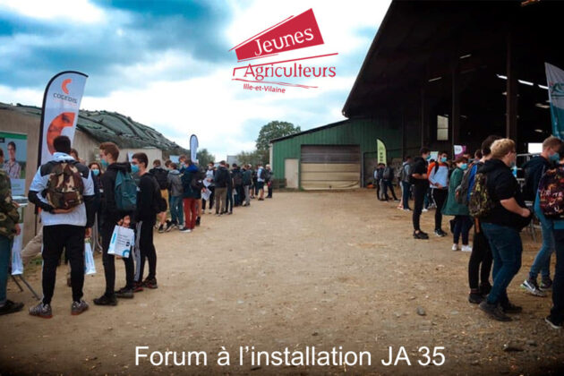 Forum à l'installation des jeunes agriculteurs 35