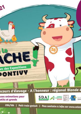 Salon de l'agriculture du Morbihan : Ohhh la vache !
